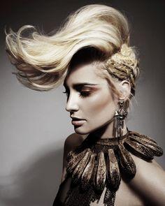 Hair: Gina Conway Aveda Lifestyle Salons and Spas, London  Photos: John Rawson Make-up: Jo Sugar Styling: Jared Green Art Direction: Gina Conway