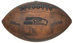 NFL San Francisco 49ers Wilson 9-Inch Throwback Football by Gulf Coast Sales. $16.90. Made by Wilson. Distressed Brown Color Made of Composite Leather and Features Composite Leather Stitching. Durable Design Hold Shape. Football Holds 2 to 4 Pounds of Air and Measures 9-Inches in Length. Laser Stamped Offical Team Logo. Football is one of America's favorite past-times and Wilson brings you a large array of footballs to commemorate or play the game. This NFL Officially Licens...