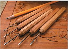 Micro Carving Tool Sets - Woodworking