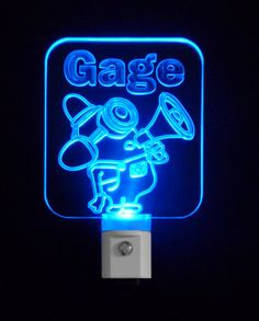 Personalized #Fireman #Minion Inspired LED Night Light, Custom with Name, by Unique LED Products #personalizedgift #LED #CLEVELAND