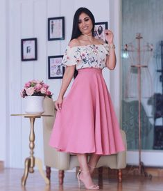 Swans Style is the top online fashion store for women. Shop sexy club dresses, jeans, shoes, bodysuits, skirts and more. Modest Fashion, Fashion Outfits, Womens Fashion, Pretty Dresses, Beautiful Dresses, Skirt Outfits, Cute Outfits, Dressy Skirts, Blouse And Skirt