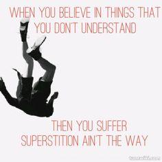 Superstition / Stevie Wonder