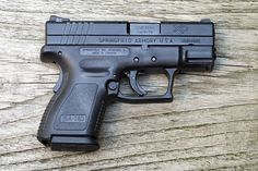 Springfield XD 9mm subcompact - My 1st gun!!!  This will be my concealed gun...