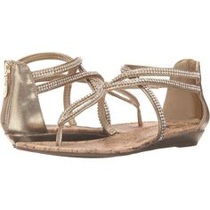 G by GUESS Justeen (Gold) Women's Shoes ($30) ❤ liked on Polyvore featuring shoes, sandals, gold, zipper sandals, zip shoes, g by guess shoes, gold sandals and gold shoes