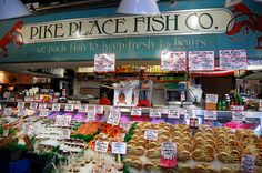 Pike Place Fish Market, Seattle, Washington
