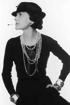 """Coco Chanel -   'In order to be irreplaceable one must always be different."""" Coco Chanel is a self made women ahead of her time that built a fashion empire and an attitude that made woman feel classy and confident. Cheers to you Ms. Chanel."""
