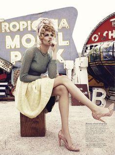 Nicole Bentley for Vogue Australia, March 2012