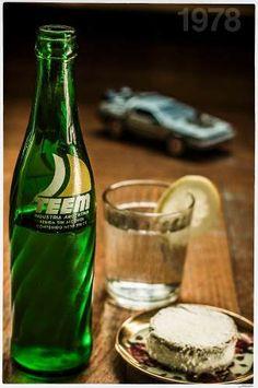 Botella Teem Gaseosa Vintage