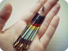 the Metric Child: DIY// bobby pin earrings