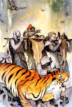 Fables #65 cover art by James Jean