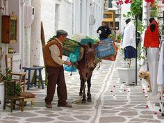 I knew this guy. Fruit and veg seller, Paroikia, Paros. Paros Island, Island Tour, Shore Excursions, Greek Islands, Greece, Tours, Country, World, Travel