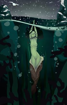 Selkie Removing Her Skins Witch Characters, Celtic Mythology, Pagan Witch, Doodle Inspiration, Dark Elf, Nature Aesthetic, Ocean Art, Fantasy World, Mythical Creatures