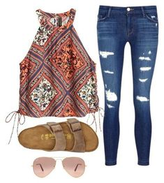 Popular Summer Polyvore Outfits Ideas 17