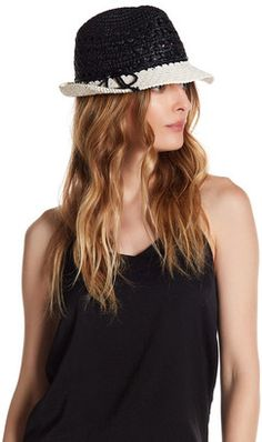 kate spade new york Colorblock Fedora Hat  hat  womens Cute Hats a1bd4957e640