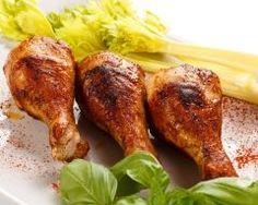 Cuisses de poulet gratinées aux épices