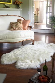 Shearling Rug - Area Rug, New Zealand Wool | Soft Surroundings