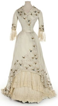 Edwardian Bumble Bee Dress, 1900-05. Oh My GOD