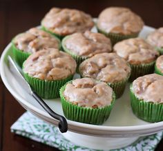 Chasing Some Blue Sky: Apple Fritter Muffins