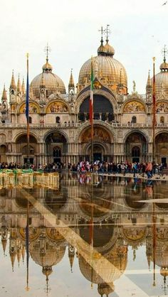 St Mark's Square of Venice, Italy