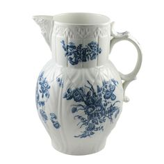 Caughley Porcelain Mask Pitcher | From a unique collection of antique and modern pitchers at http://www.1stdibs.com/furniture/dining-entertaining/pitchers/
