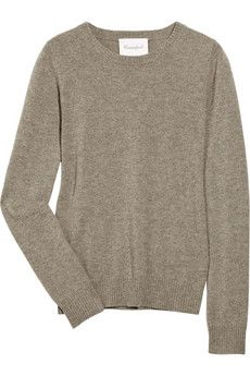 And I will wear cashmere sweaters. Because they are wonderful. Sweaters are my favorite.