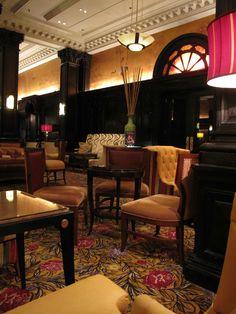 The Algonquin Hotel lobby, New York, NY