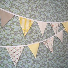 Woodland Party Bunting by acraftyhen