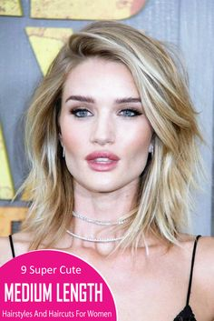 here are 9 Super Cute Medium Length Hairstyles And Haircuts For Women. No matter how you wear your dresses, medium length hair gives you great styling options and you will know it from here. take a look at these Super Cute Medium Length Hairstyles And Haircuts For Women. you should not miss those out!