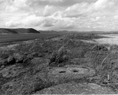 Modoc Lava Beds Archaeological District in Tulelake County, California, part of the Lava Beds National Monument (Janet P. Eidsness)