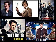 Matt Smith // Happy 33 birthday