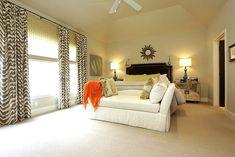 Zebra Curtains, Transitional, bedroom, MALI
