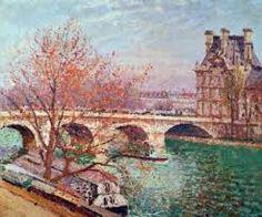 Pont Royal and the Pavillon De Flore - Camille Pissarro