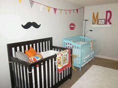 Twin baby room