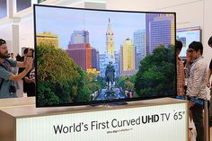 Samsung has just unveiled the world's first curved Ultra High-Definition TV (UHDTV) in Berlin, Germany, just a day before IFA 2013 opens its doors.