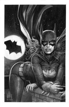 Batgirl by Eddy Newell