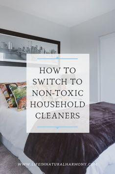 Swap out your chemical-based cleaners for non-toxic cleaning products. Check out these resources and tips to get started! Natural Cleaning Solutions, Natural Cleaning Recipes, Homemade Cleaning Products, Natural Cleaning Products, Chemical Free Makeup, Chemical Free Cleaning, Castile Soap Uses, Detox Your Home, Natural Air Freshener