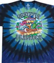 1f386f92074 Liquid Blue - AC DC HELL - Short Sleeve Tie-Dyed T-Shirt PLUS SIZES