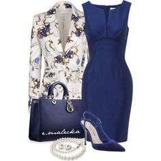 """Dress and shoes - """"40"""" by eva-malecka on Polyvore"""