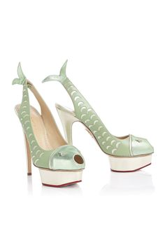 Charlotte Olympia spring 2014 shoes