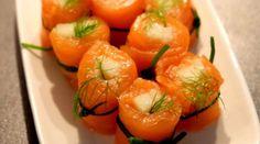 Maki de saumon fumé à la pomme Granny Smith et au fenouil