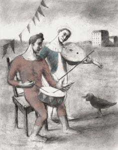 Illustration by Pablo Auladell – from 'La feria abandonada' (The abandoned carnival)