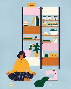 Mollie Makes - Naomi Wilkinson Illustration