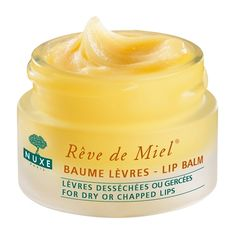 """NUXE Reve De Miel Lip Balm is a true beauty icon, 1 is sold every 28 seconds. Intensely nourishing & healing for dry, cracked lips - some call it """"the best lip balm ever""""! Beauty Secrets, Beauty Hacks, Beauty Products, Lip Products, Beauty Box, French Products, Beauty Case, Top Beauty, Beauty News"""