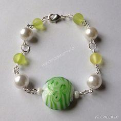 Green bracelet gemstone bracelet Mother of the by Mandymoos72 #etsy #etsyselleruk #etsyshop #greenbracelet #gemstones #gemstonebracelet #handmadebymand