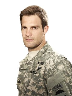 Geoff Stults as Pete Hill in Enlisted