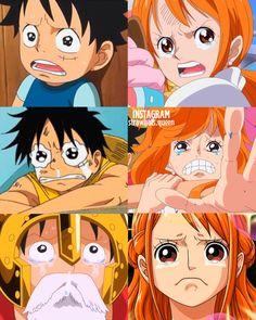 Manga Anime One Piece, One Piece Fanart, Instagram Words, Luffy X Nami, One Piece Nami, Ova, Naruto Uzumaki, Monkey, Funny Stuff