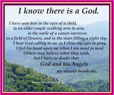 I TRULY saw and experienced that our Heavenly Father with NO doubt is alive and see and hear EVERY conversation with him... For me it started as child asking for something so simple that was important for me and He IMMEDIATELY showed me that He hears me till now in my adulthood (after MANY mistakes) guides me and reveals all to me at heart and will FOREVER be a true follower and voice for Him... AMEN!!!