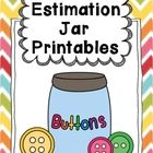 Estimation Jar Printables by First Grade Schoolhouse. Recording sheets and a poster. FREE download.