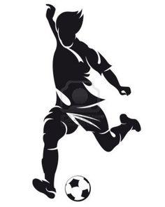 12479822-vecteur-de-football-soccer-joueur-qui-court-avec-le-ballon-silhouette-isolee