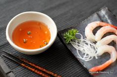 hot pepper sauce with sashimi